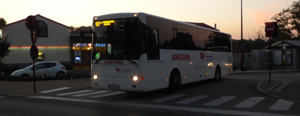 autocar Roche agglomération