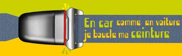 Les ceintures de sécurité dans les autocars en Vendée