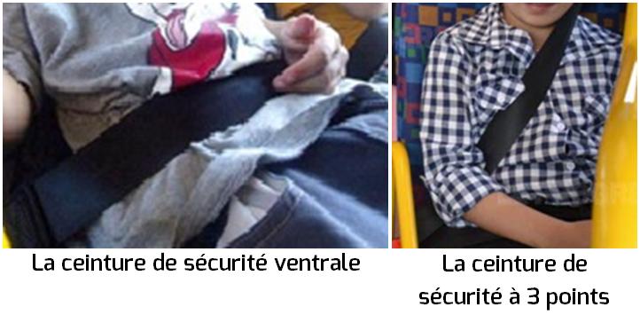 Les ceintures de sécurité dans les autocars en Vendée 6